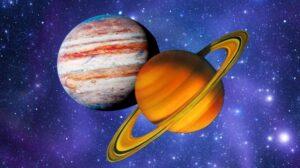 Соединение Юпитера и Сатурна